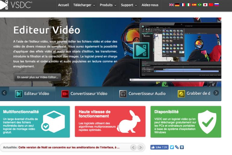 meilleur logigiel montage video création vidéo