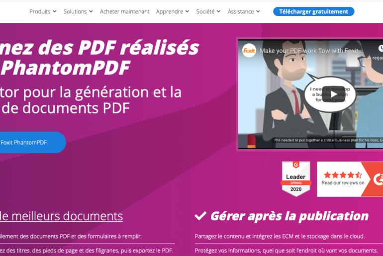 Meilleur logiciel pour modifier un pdf